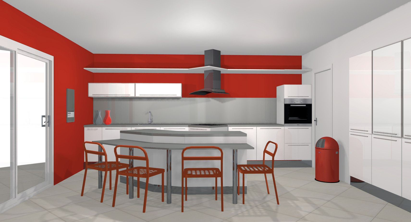 D co interieure cuisine exemples d 39 am nagements for Decoration pour interieur