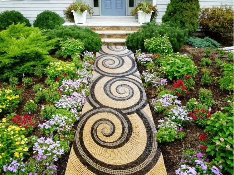 Garten Idee Allee - linearsystem.co - Home Design Ideen und Bilder.