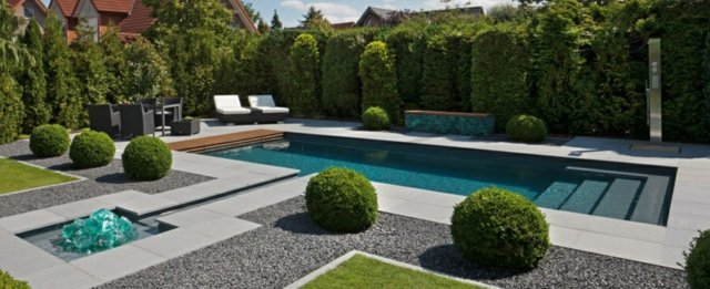 D co jardin avec piscine exemples d 39 am nagements for Piscine de clamart jardin parisien