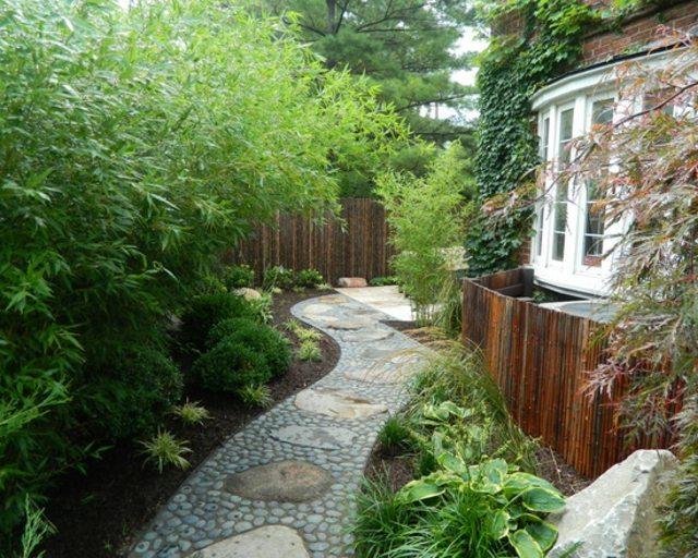 Déco jardin bambous - Exemples d\'aménagements