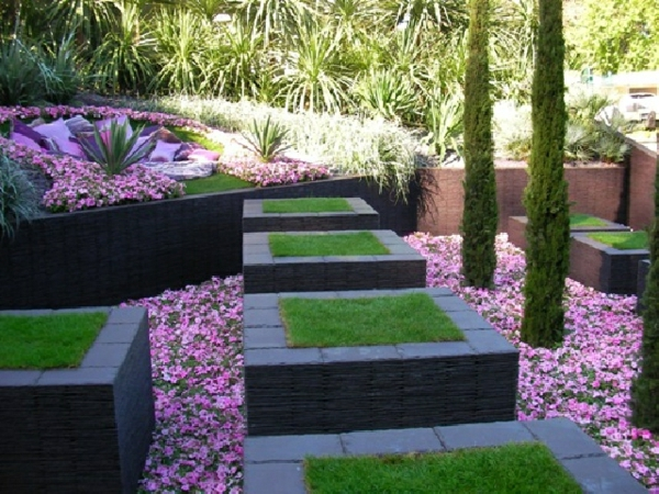 D co jardin design exemples d 39 am nagements for Idee jardin design