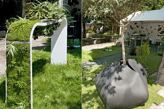 D co jardin design exemples d 39 am nagements - Exemple de decoration de jardin ...