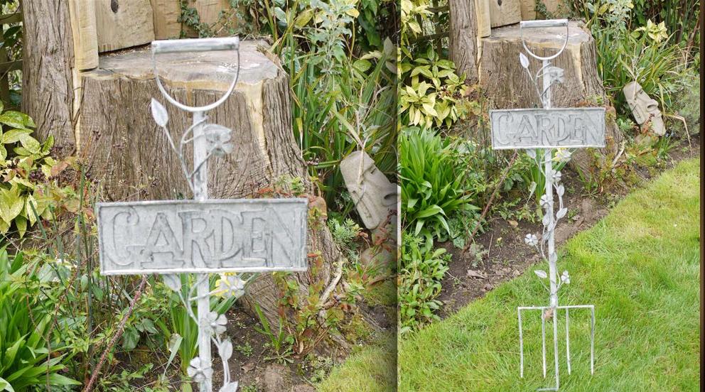 D co jardin fer exemples d 39 am nagements for Deco metal jardin