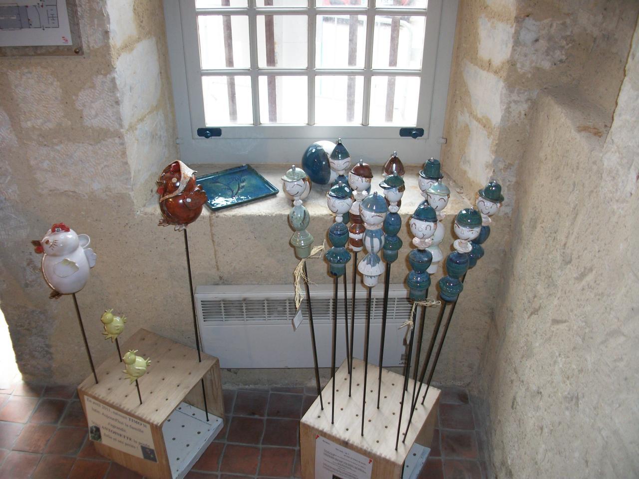 Déco jardin poterie - Exemples d\'aménagements