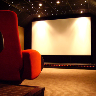 d co maison cinema. Black Bedroom Furniture Sets. Home Design Ideas