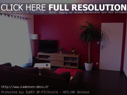 idée déco maison couleur framboise