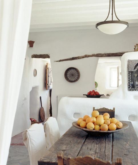 decoration cuisine grecque