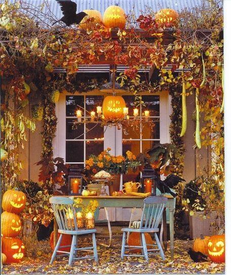 Deco halloween maison creations design de maison - Creation deco maison ...