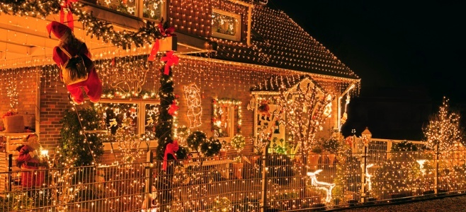 D co maison noel exterieur exemples d 39 am nagements - Decoration noel exterieur professionnel ...