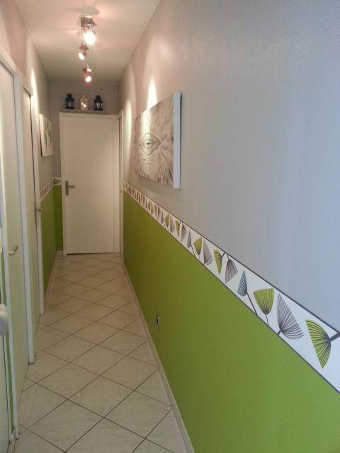 D co maison peinture couloir exemples d 39 am nagements for Decoration couloir de maison