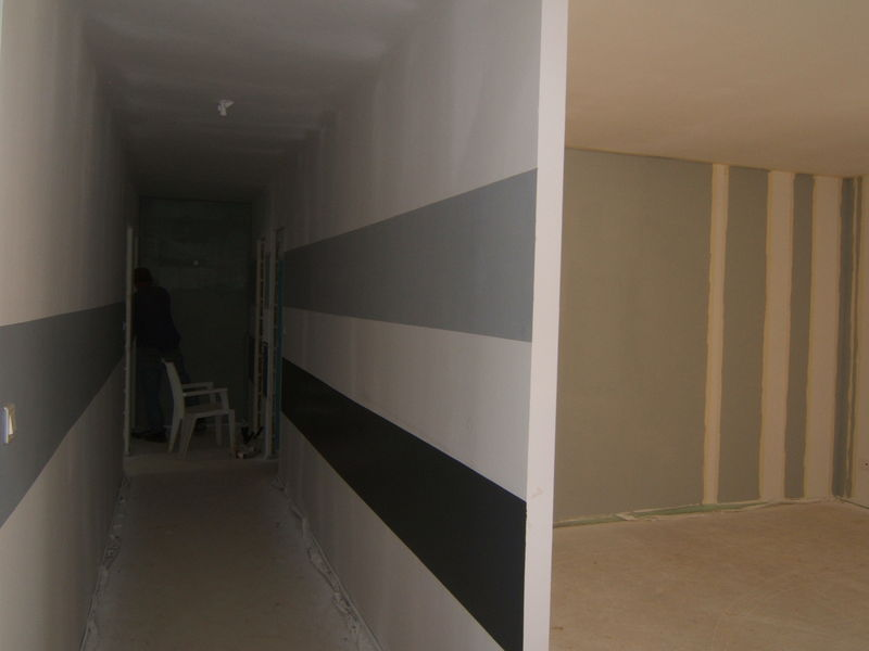 D co maison peinture couloir exemples d 39 am nagements for Photo couloir maison