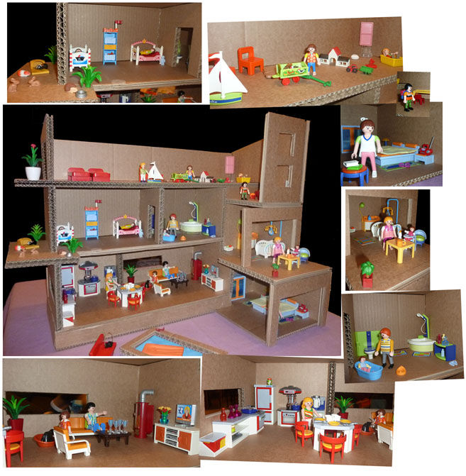 d coration maison playmobil. Black Bedroom Furniture Sets. Home Design Ideas