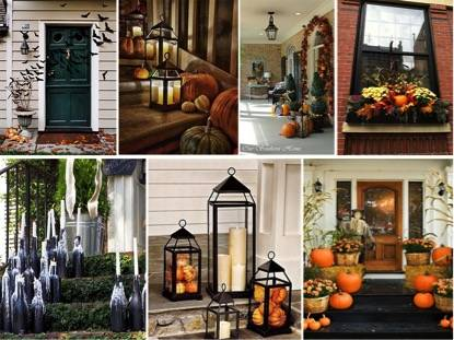 D co maison pour halloween exemples d 39 am nagements - Maison decoree pour halloween ...