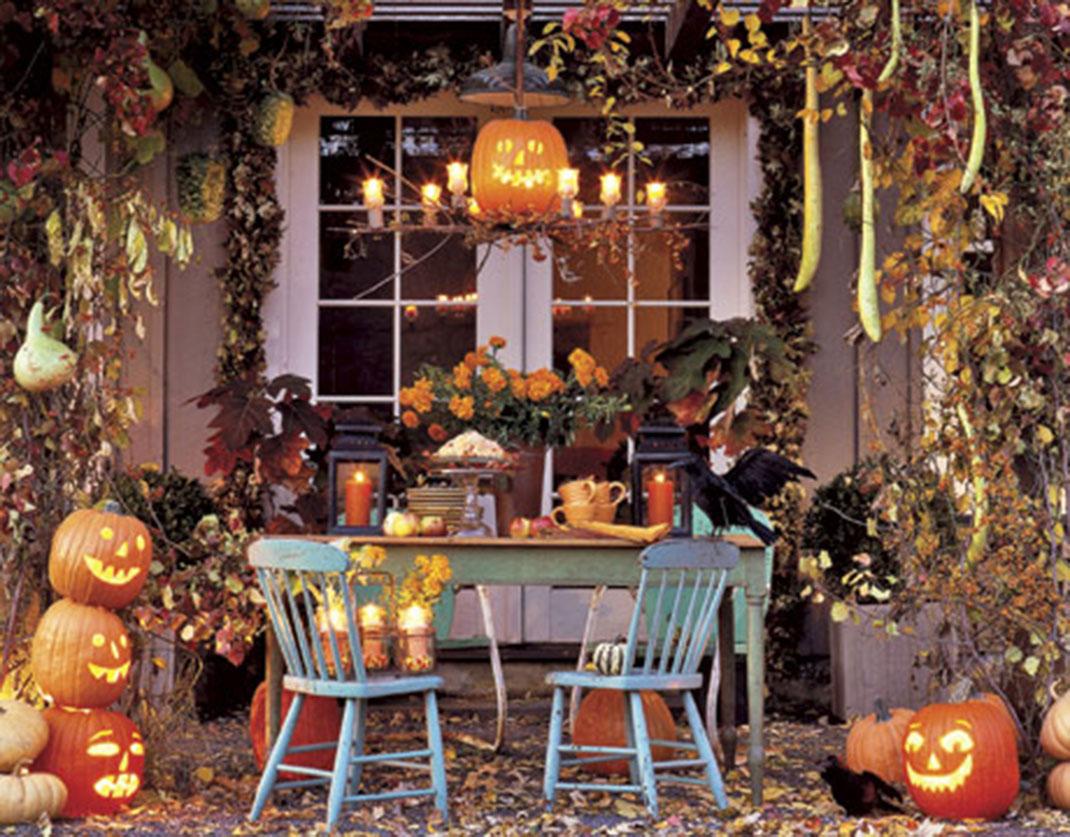 D co maison pour halloween exemples d 39 am nagements for Deco fait maison pour halloween