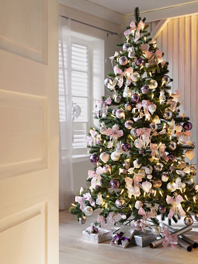 D co maison sapin de noel exemples d 39 am nagements - Decoration sapin de noel tendance ...