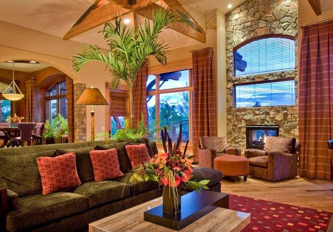 d co maison tropicale exemples d 39 am nagements. Black Bedroom Furniture Sets. Home Design Ideas