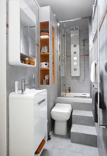 Déco mini salle de bain