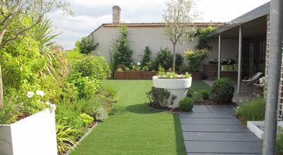 Deco Massif Jardin. Latest Decoration Massif Exterieur Luxe Idee ...
