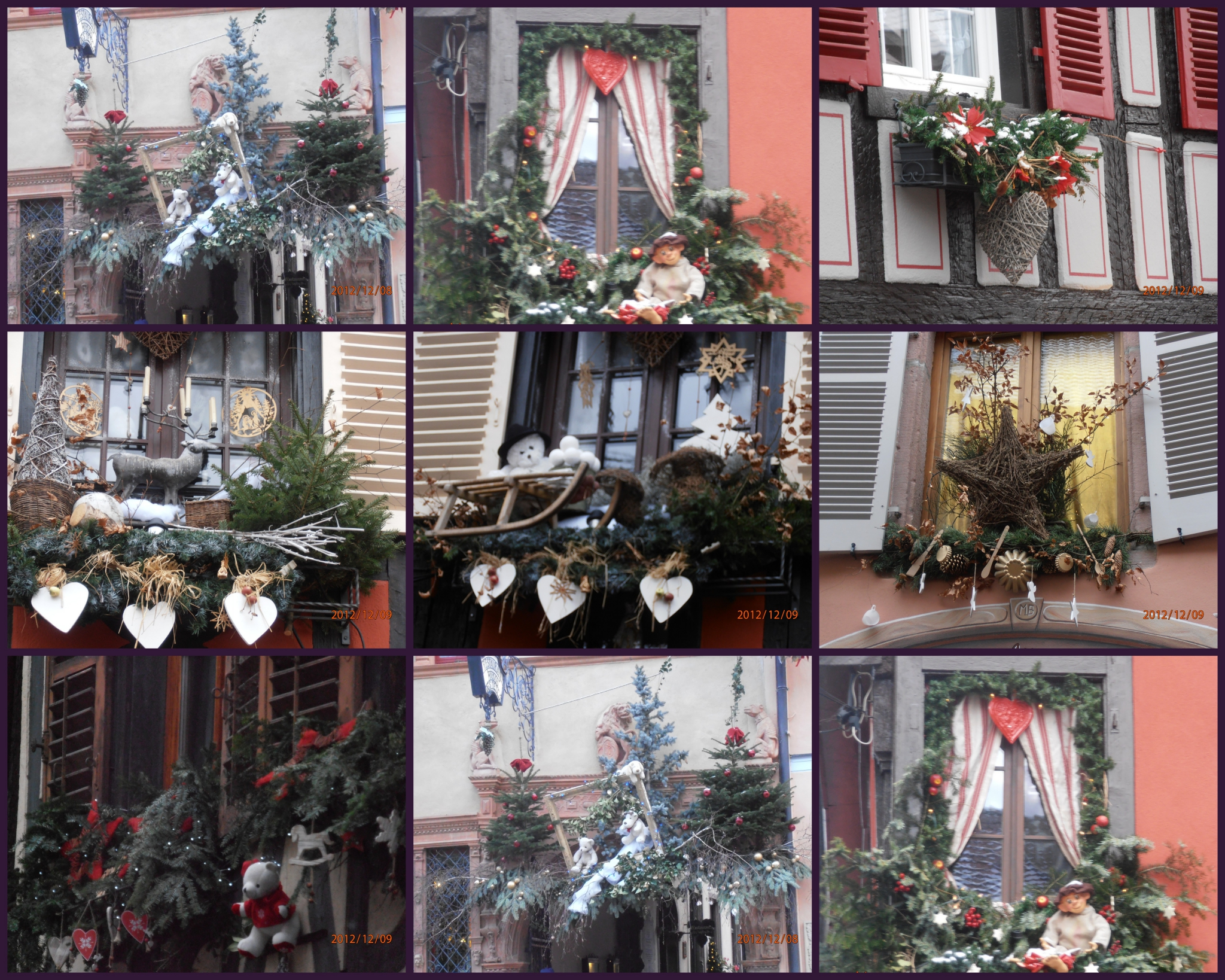 D co noel maison alsace exemples d 39 am nagements for Decoration de fenetre exterieur pour noel