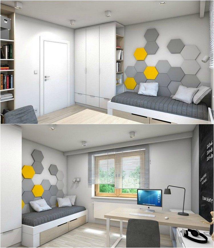 D co peinture petit espace exemples d 39 am nagements for Decoration petit espace