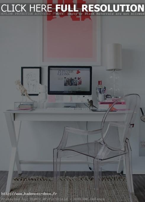 aménagement déco petit bureau