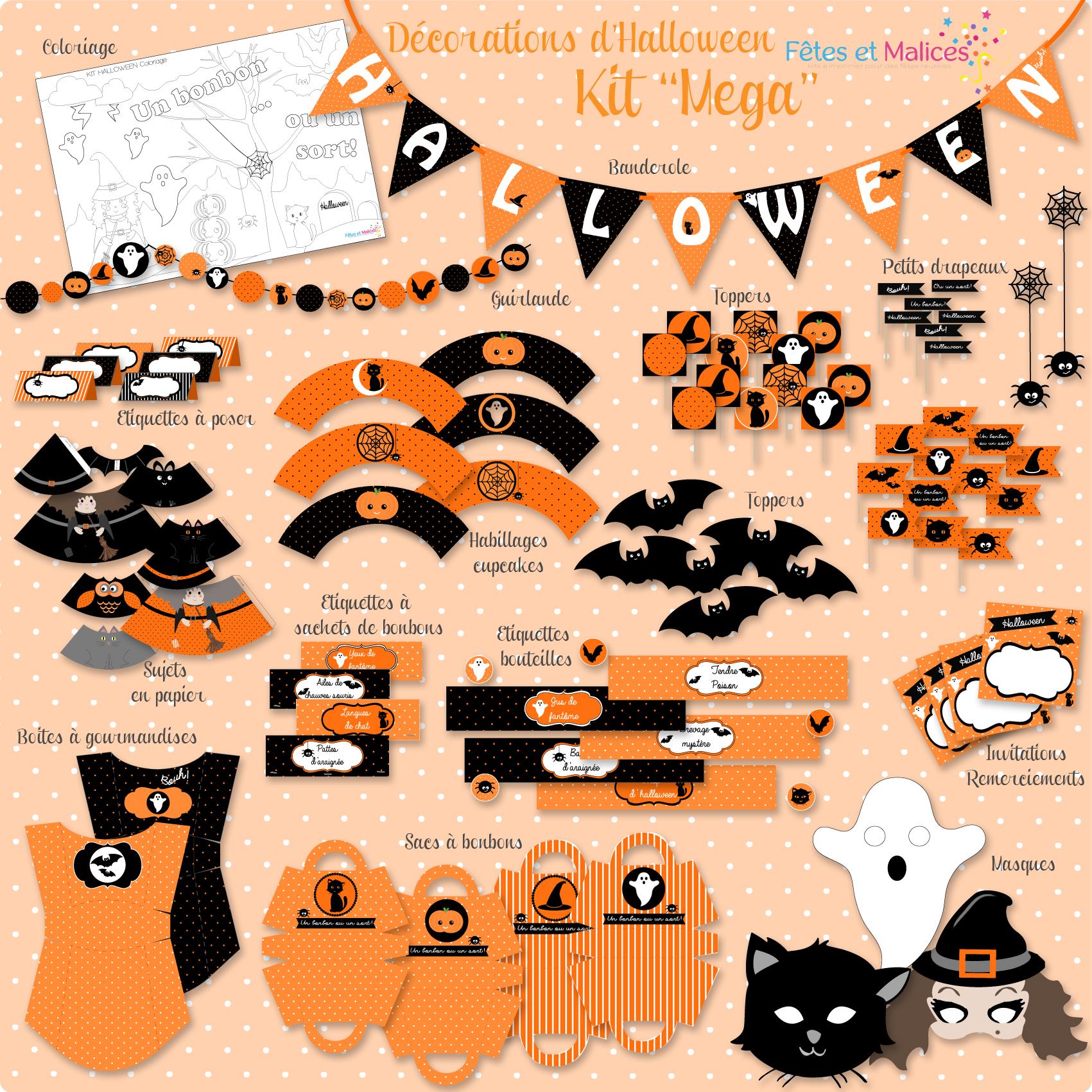 D co pour chambre halloween exemples d 39 am nagements for Deco fait maison pour halloween