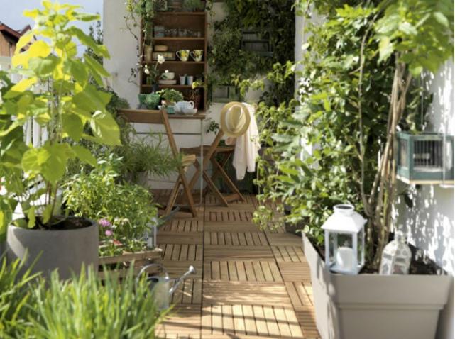 Déco pour terrasse - Exemples d\'aménagements