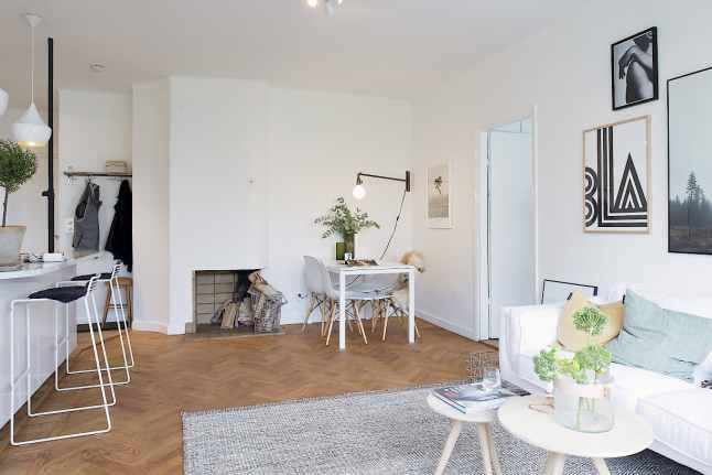 d co premier appartement exemples d 39 am nagements. Black Bedroom Furniture Sets. Home Design Ideas
