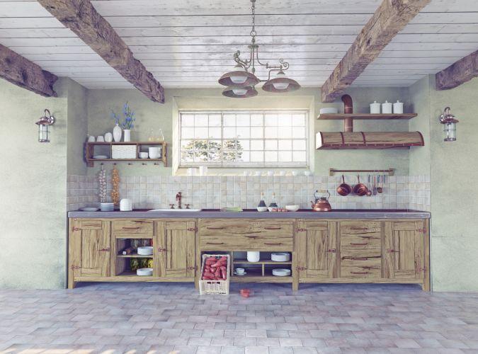 D co relooking cuisine exemples d 39 am nagements - Customiser cuisine en bois ...
