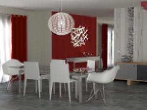 D co salle a manger en papier peint exemples d 39 am nagements - Papier peint pour salon ...