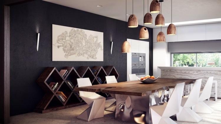 Déco salle a manger style contemporain - Exemples d\'aménagements