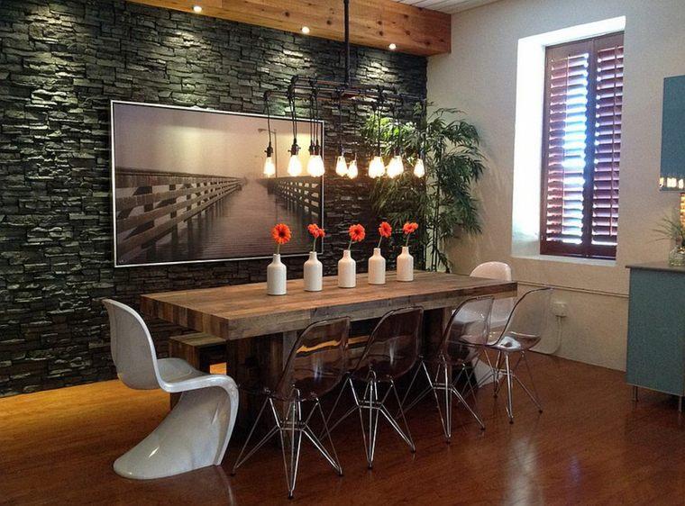 D co salle a manger style contemporain exemples d for Mobilier salle a manger contemporain