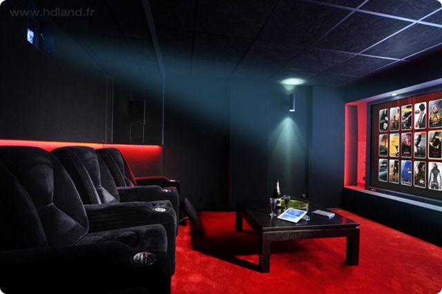 d 233 co salle cinema maison exemples d am 233 nagements