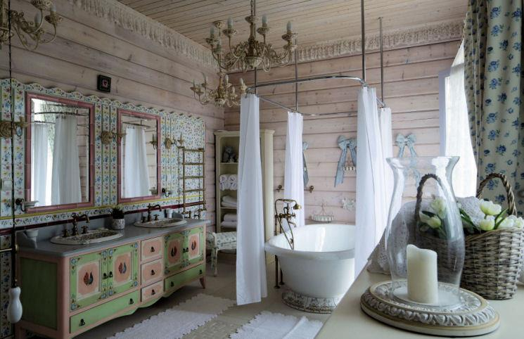 D co salle de bain antique exemples d 39 am nagements - Decoration maison salle de bain ...