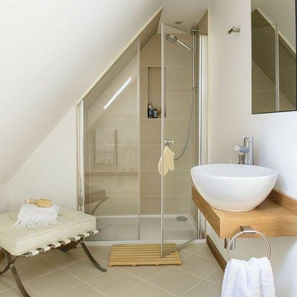 D co salle de bain combles exemples d 39 am nagements for Sophie ferjani deco salle de bain