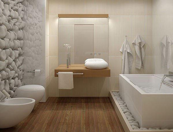 Déco salle de bain modele - Exemples d\'aménagements