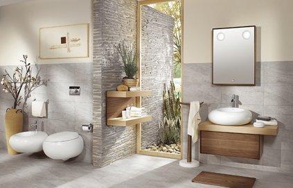 Déco salle de bain nature zen
