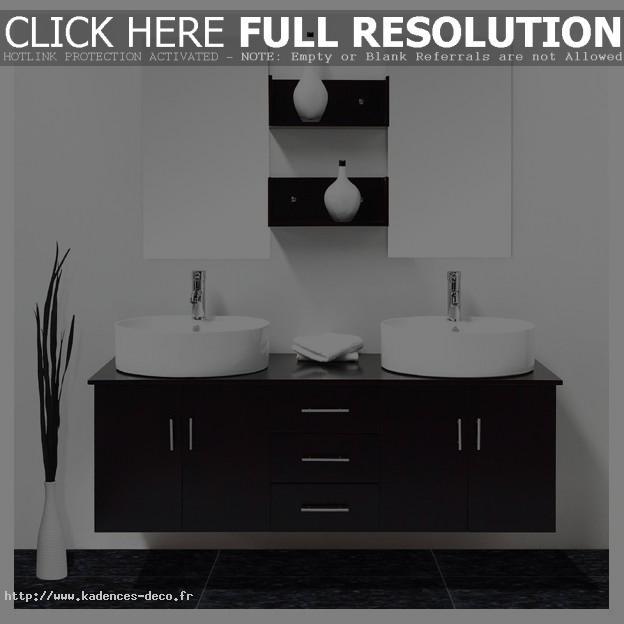 Déco salle de bain wenge
