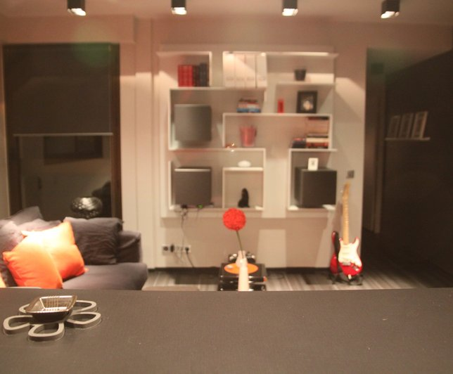 d co salon 24m2 exemples d 39 am nagements. Black Bedroom Furniture Sets. Home Design Ideas