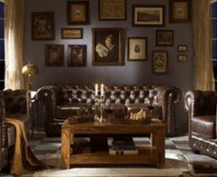d co salon a l 39 anglaise exemples d 39 am nagements. Black Bedroom Furniture Sets. Home Design Ideas