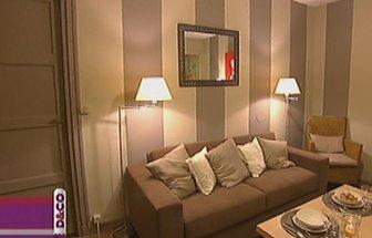 decoration salon peinture beige. Black Bedroom Furniture Sets. Home Design Ideas