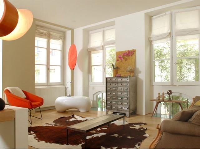 D co salon carre exemples d 39 am nagements - Modele de decoration de salon ...