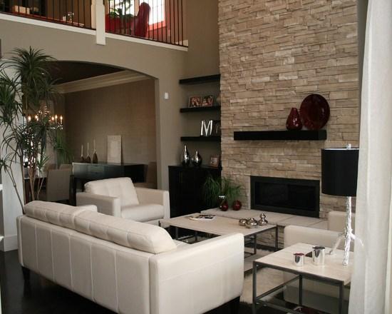 D co salon design exemples d 39 am nagements for Deco sejour design