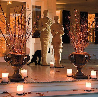 décoration salon halloween