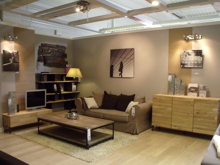D co salon industriel exemples d 39 am nagements for Deco cuisine style industriel