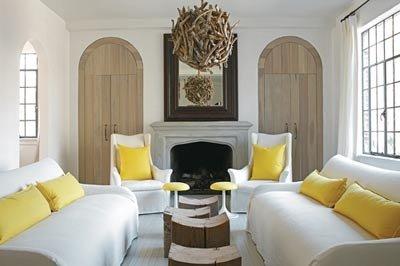 Salon Jaune Et Gris. Cool Beautiful Deco Salon Jaune Gris Blanc ...