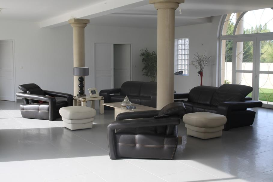 Deco Salon Noir Et Blanc. Simple Deco Salon Blanc Et Noir With ...