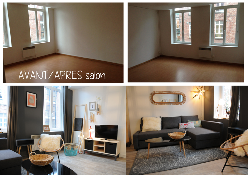 D coration petit salon appartement for Idee deco appartement
