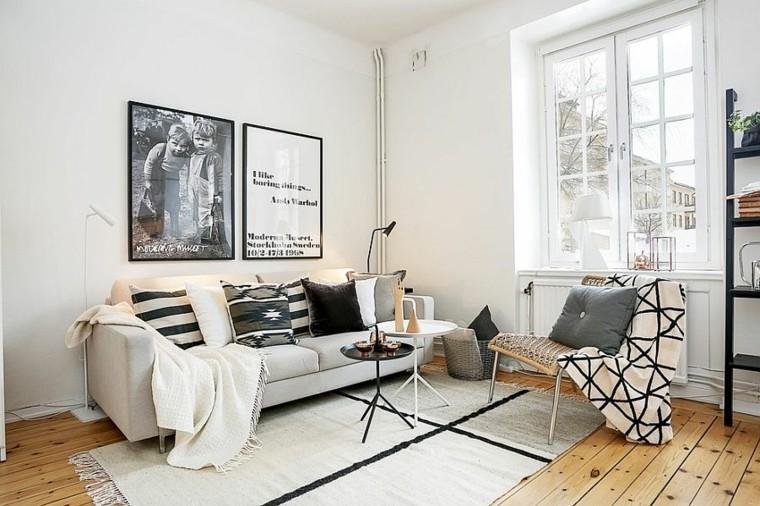 exemple déco salon petit appartement