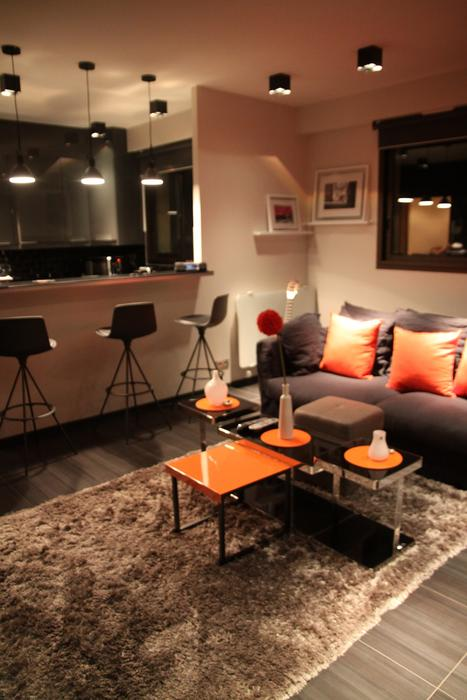 D co salon pour appartement exemples d 39 am nagements - Idee deco salon design ...